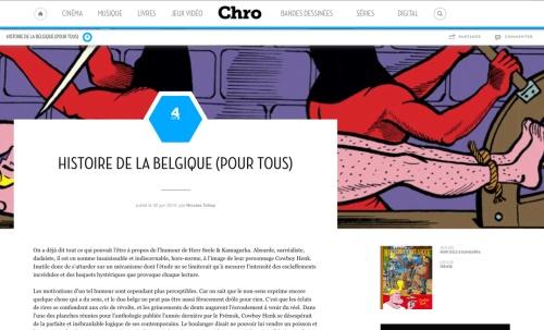chro-Histoire de la belgique